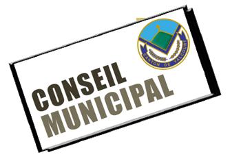 Séance ordinaire du conseil @ Bureau municipal